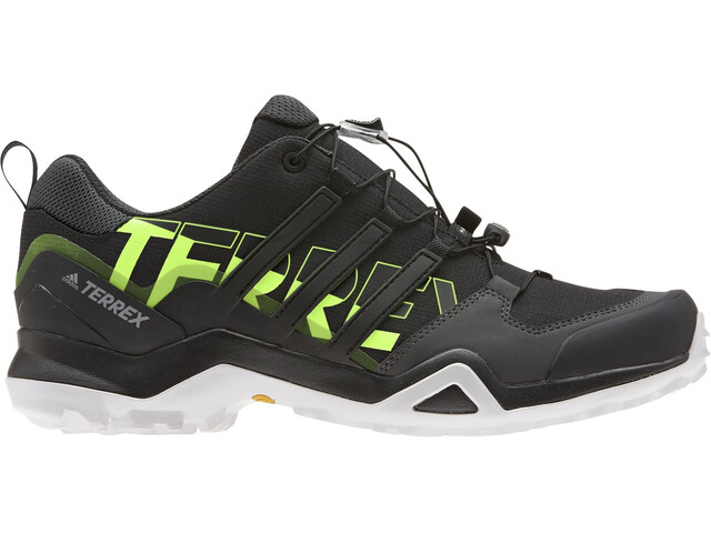 adidas TERREX Swift R2 Hiking Shoes Men, core black/core black/signal green